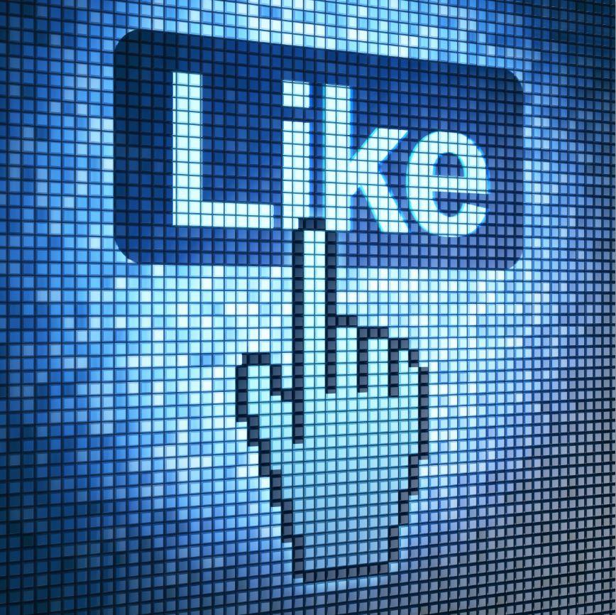 facebook like 臉書 讚