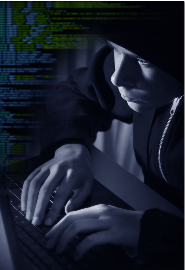 hacker with hat