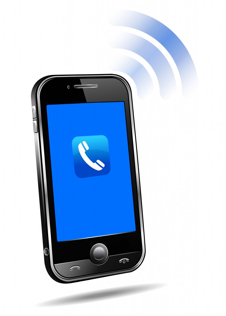 Clip Art Cell Phone Ringing Clipart Free Clipart Images