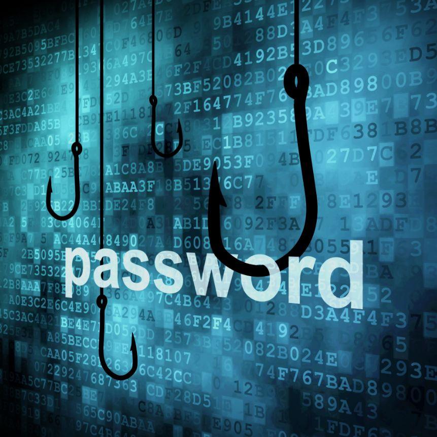 password 網路釣魚 phishing