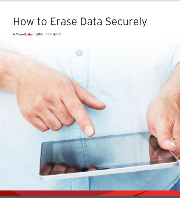 How to erase data securely