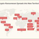 加密勒索軟體散播到新地區,台灣列入歐美以外最受影響的國家