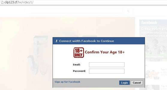 FB SCAM login