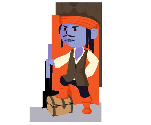 萬聖節 halloween pirate1