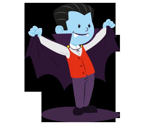 萬聖節 halloween vampire1