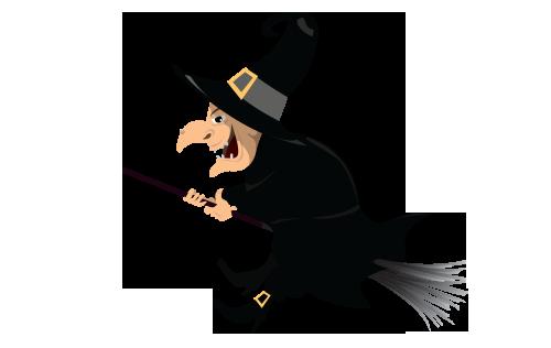 萬聖節 halloween witch1