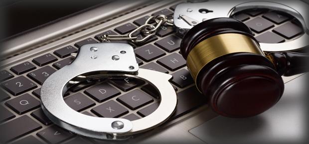 勒索軟體 手銬 犯罪