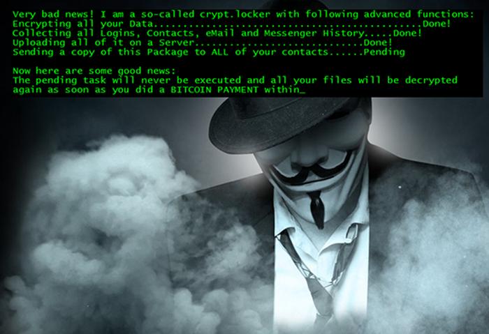 Jigsaw 變種勒索訊息 (資料來源:BleepingComputer)