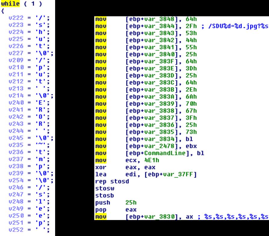 圖9:「byte string」截圖