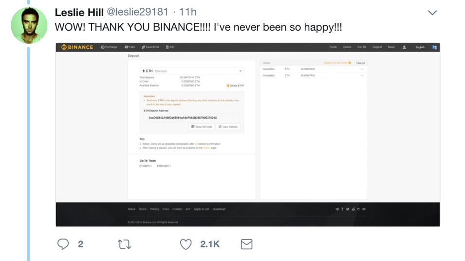 駭客利用假帳號,秀出戶頭畫面,證明自己收到 99 個贈幣。