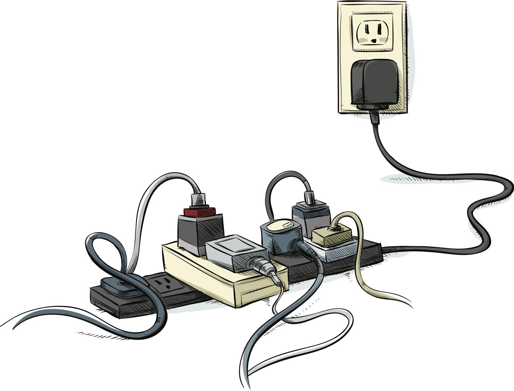 離開座位,旅充持續插在延長線接電嗎?手機充電安全:七個延長線使用安全須知