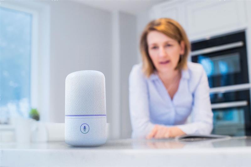 語音式裝置 (如 Amazon Echo 和 Google Home 等智慧音箱/智慧喇叭) 採用新的人機介面來與裝置互動。使用時只需用語音來下達指令就能操作這些語音助理。